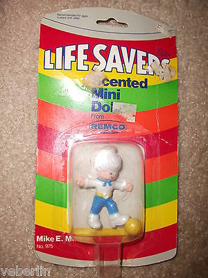 Life Savers Scented Mini Doll, Mike E. Mint, No. 975, REMCO, 1982, MIP!