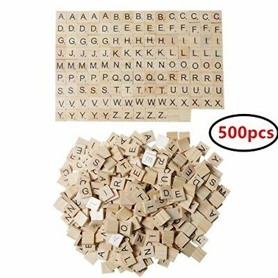 Scrabble Tiles Arts and Crafts For Girls 500 Pieces 100 Letters Scrapbooking