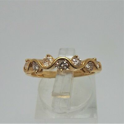 18Ct Yellow Gold 1/2 Ct Diamond Ring Valued @ $1871 Comes With Valuation