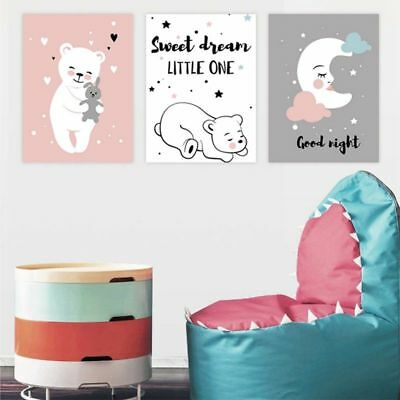 Baby Moon Animal Chic  Canvas Painting Decorative Newest High Quality  Style