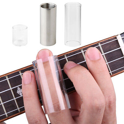 Exquisite Glass Guitar Bass Tone Bar Stainless Steel Slide Tone Bar