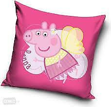 PEPPA PIG PILLOWCASE CUSHION COVER 40x40 cm, 3 to choose from