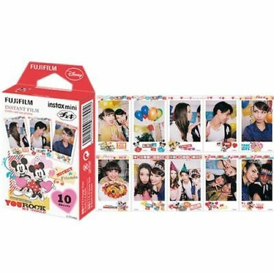 Fujifilm Instax Mini Film Mickey Mouse You Rock for Fuji Mini Neo 90 8 7s 25