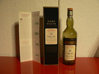 Caol Ila 1978 23 Y Rare Malts Scotch Whisky in box ( empty bottle  / leer )