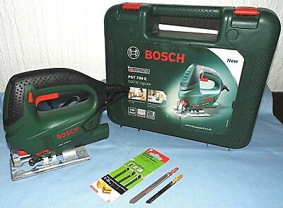Bosch PST 700 E Jigsaw 500w 240v..VGC used twice ..boxed,blades,instructions.