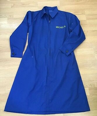 Michelin Retro Workwear Vintage LADIES MICHELIN OVERALLS NEW SIZE 38 ZIP UP L/S