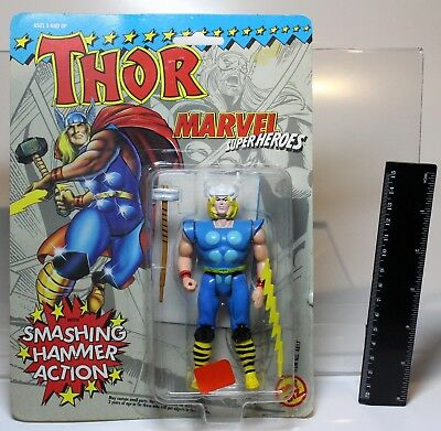 Marvel THOR aus MARVEL SUPER HEROES von TOY BIZ 1991 MOC