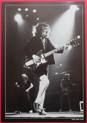 Angus Young Ac/dc 1984 Clipping Japan Photo Book Ma2