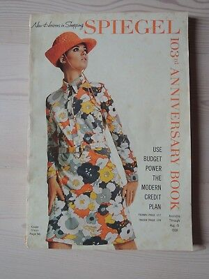 Mid-Century Spiegel Catalog Katalog August 1968 Mode