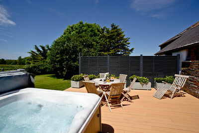 Christmas holiday in a luxury lodge in Burn Park, Bude, Cornwall