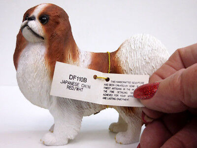 Japanese Chin, Red/white, Standing  Conversation Concepts, Item Df110B