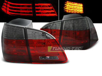 Tail Lights for BMW 5 Series E61 04-07 TOURING Red Smoke LED CA LDBME1WD XINO CA