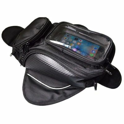 Motorcycle Gas Oil Fuel Tank Bag Waterproof Backpack & Magnetic Motorcycle Ta B5