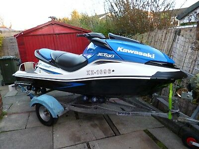 *** 2007 Kawasaki Ultra Lx Jet Ski,low Hours,roller Trailer,fitted Cover. ***
