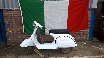 1973 Vespa moped.