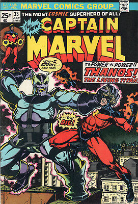 Captain Marvel #33 in NM condition!