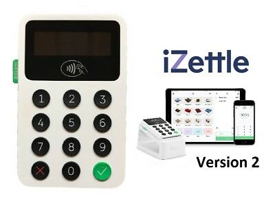 * NEW *  iZettle Reader 2 Card Reader With Contacltess Payment - 2019 Version !