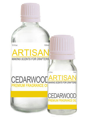 CEDARWOOD FRAGRANCE OIL 10ml 100ml for Candles Melts Home Fragrance Potpourri