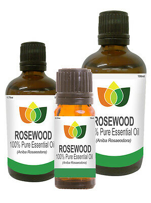 Rosewood Essential Oil Pure Natural Authentic Aromatherapy Aniba Rosaedora