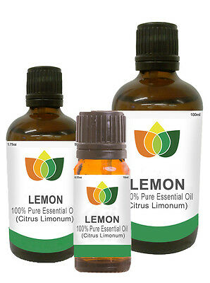 Lemon Pure Essential Oil Natural Authentic Citrus Limonum Aromatherapy