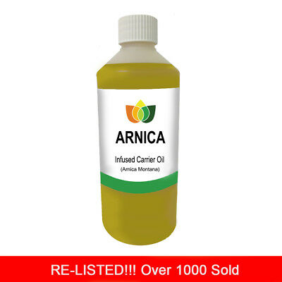 500ml ARNICA OIL PREMIUM Cold Pressed Natural Carrier/Base