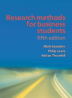 Research Methods for Business Students by Philip Lewis Paperback Book The Cheap