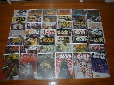 Marvel Star Wars comic lot 2015 series. #1 - 39 plus 3 annuals GREAT condition