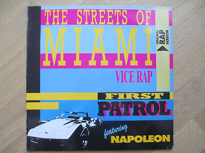 "ITALO DISCO 12"",  First Patrol Feat. Napoleon ‎– The Streets Of Miami, ZYX 5581"