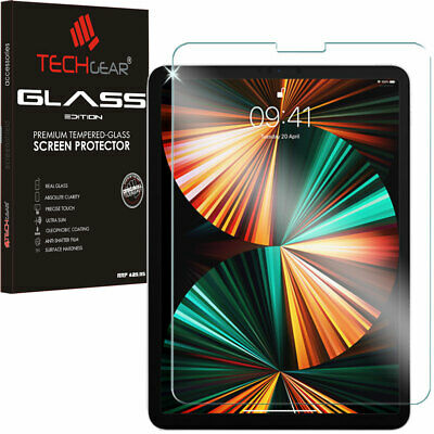 TECHGEAR TEMPERED GLASS Screen Protector for Apple iPad Pro 12.9 2018 Face ID OK