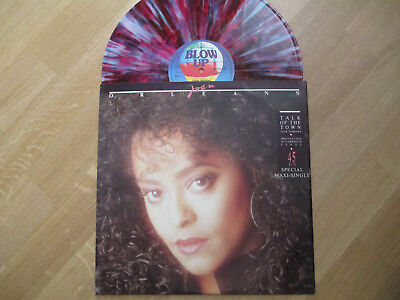 "Multicolor Splattered Vinyl 12"",  Joan Orleans ‎– Talk Of The Town, 1987"