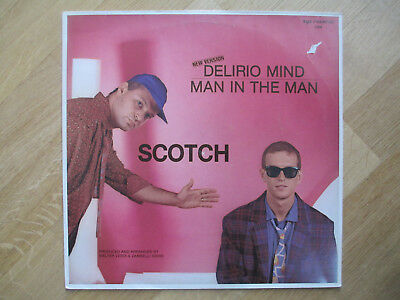 "ITALO DISCO Vinyl 12"", Scotch ‎– Delirio Mind (New Version), ZYX Records ‎– 5188"