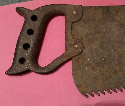 antique cast iron wall decor (cast iron handle)