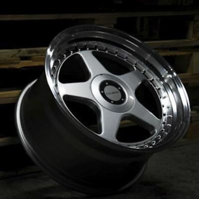 """ALLOY WHEELS X 4 17"""" SPL DARE DR-F5 FOR RENAULT TRAFIC PEUGEOT BOXER 5x118"""
