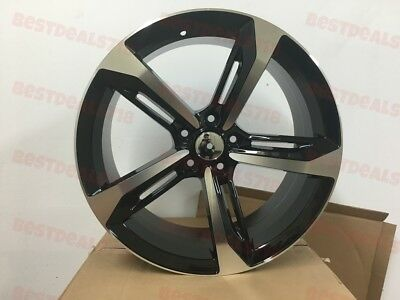 60 BLACK RS60 Style Rims Wheels Set Of Four For 60X60 Bolt Pattern Amazing Audi Bolt Pattern