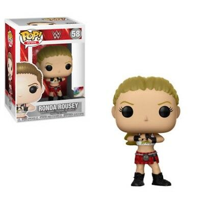 Funko POP! WWE: Ronda Rousey #58 Wrestlemania Brand New
