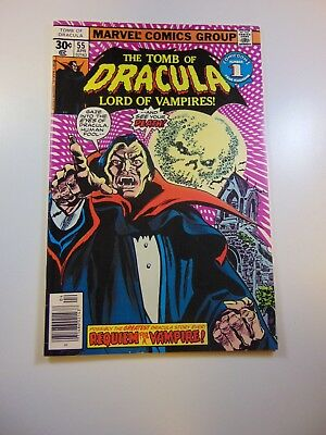 Tomb of Dracula #55 VF- condition Free shipping on orders over $100.00!