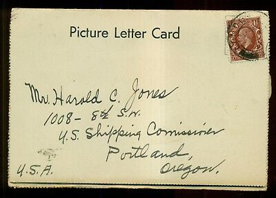 1915 Waldorf Hotel,Aldwych,London,England Picture Letter Card