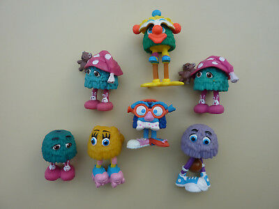 Pommesfrittchen / Funny Fry / 7 Figuren / Mc Donald Happy Meal