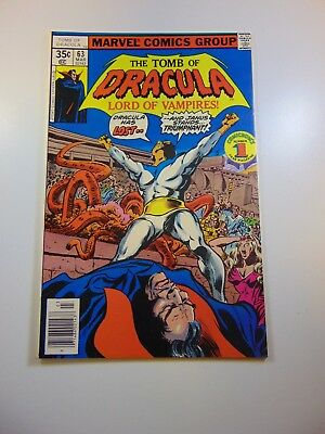 Tomb of Dracula #63 VF condition Free shipping on orders over $100.00!