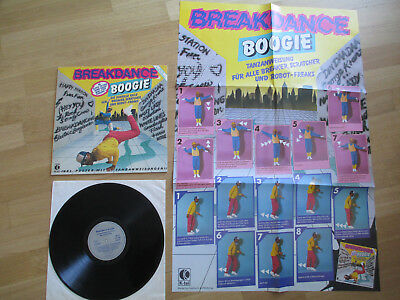 """LP 12"""", Breakdance Boogie, K-Tel – TG 1493, 1984, WITH POSTER"""