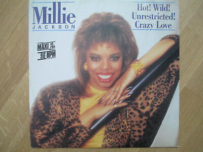"Vinyl 12"",  Millie Jackson ‎– Hot! Wild! Unrestricted! Crazy Love, 6.20660 AE,86"