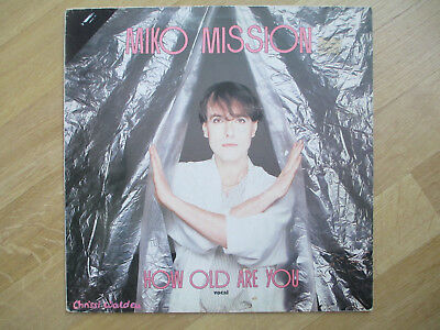 "ITALO DISCO Vinyl 12"", Miko Mission ‎– How Old Are You?, ZYX Records ‎–5145. '84"