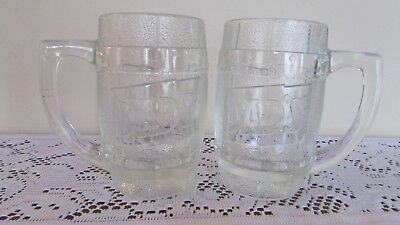 Dad's Glass Root Beer Mugs Set of Two 10 oz.