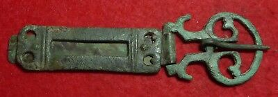 Super Roman Military Buckle and Plate