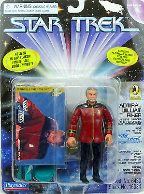 Admiral William Riker (Für Auspacker) Star Trek The Next Generation Playmates