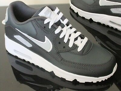 new style c1aa2 d5774 Nike Air Max 90 Leather Boys Shoes Trainers Uk Size 5 - 5.5 833412 021