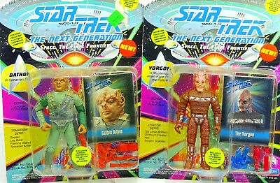 Captain Dathon & Vorgon (Für Auspacker) Star Trek The Next Generation Playmates