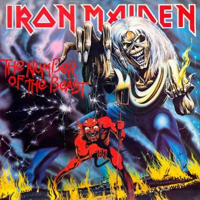 IRON MAIDEN The Number Of The Beast REMASTERED CD NEW & SEALED 2018