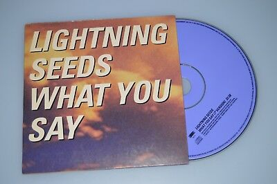 Lightning Seeds – What You Say. - CD-Single Promo