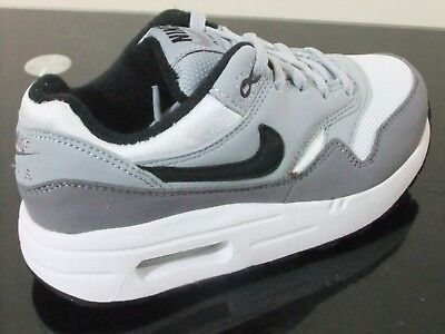 NIKE AIR MAX 1 Boys Shoes Trainers Uk Size 10 2 807603 108
